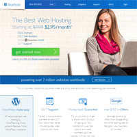Best Blog Hosting - BlueHost