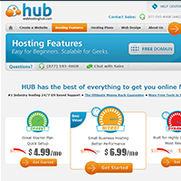 Best Blog Hosting - WebhostingHub