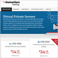 Best VPS Hosting - InMotion Hosting