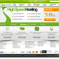 Best Unlimited Hosting Package Provider - A2Hosting