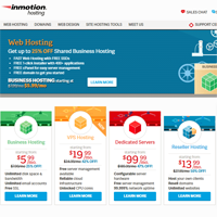 inmotion typo3 web hosting