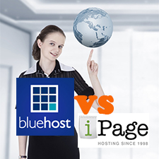 BlueHost VS iPage – Cost Effective Web Hosting Campaign