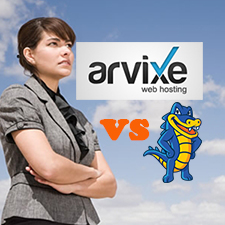 Arvixe VS HostGator – Linux Shared Web Hosting Comparison