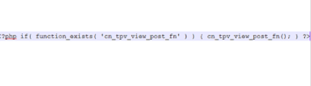 PHP Code for Post Views